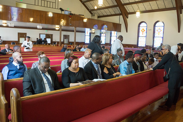 Mrs. Franchseal Colter's Homegoing Service