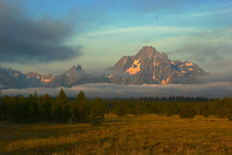 Morning in the Tetons
