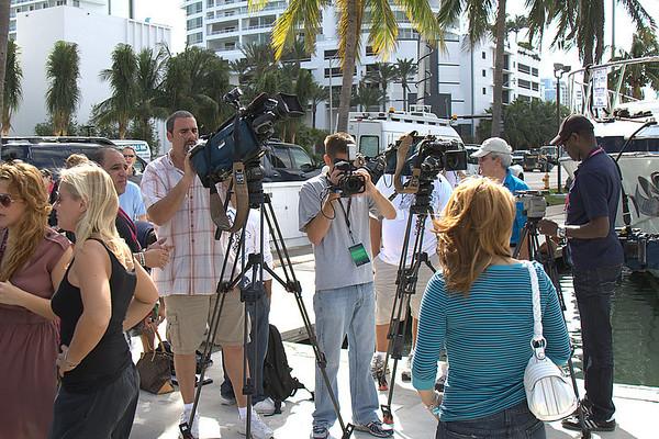 Victoria's Secret Fashion Show model arrival at the Fountainblue, Miami Beach