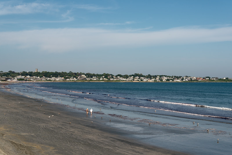 Shore - Newport, Rhode Island, USA - August 15, 2015