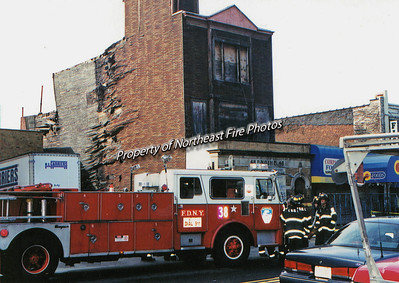 Bronx- Collapse of Engine 48's old house