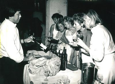 1985 Wine Tasting 10-1-1985