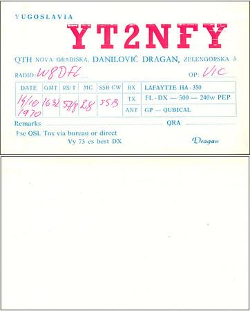 W8DFL QSL Cards - 6/6/2011