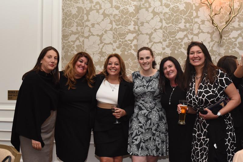 Peggy Bennette, Karen Terry, Winona Liehman, Kim Dize & January Atkins. 13th Annual Women & Wine Connection for a Cure. April 18, 2018. The Ritz-Carlton Tysons Corner. Amanda Warden. .JPG