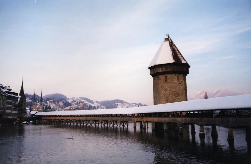 Kapellbrucke (Chapel bridge) and Wasserturm (Water Tower)