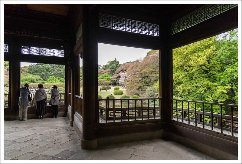Inside the Taiwanese pavilion.