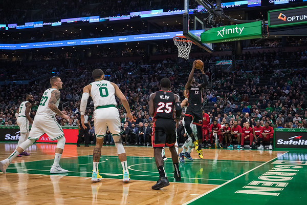 2019-12-4 Celtics vs Heat Basketball