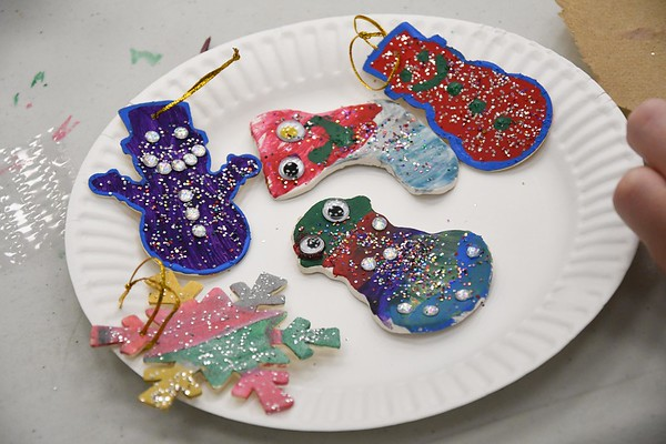 Making Christmas Ornaments - 121819