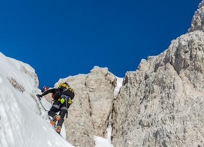 12 29 Mala Martuljska Ponca winter ascent