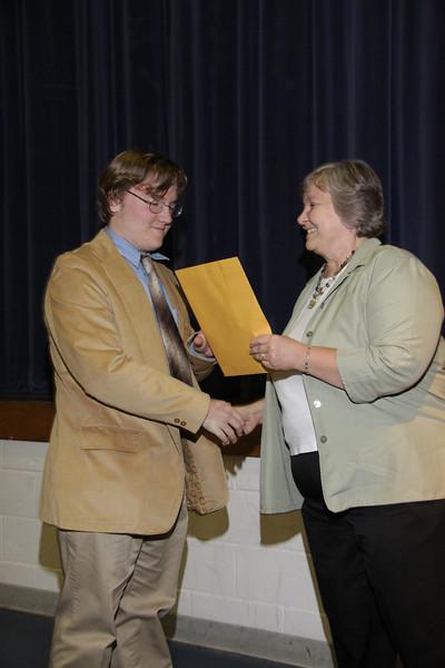 Awards Night 2012: English Student of the Year