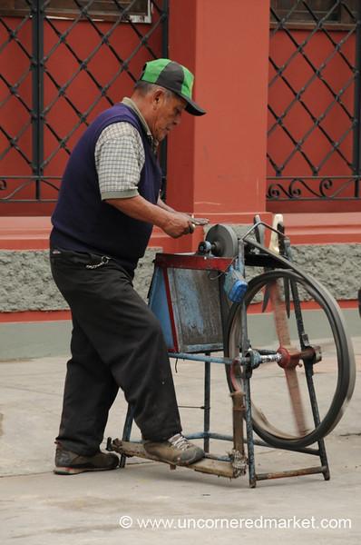 Mobile Knife Sharpener - Lima, Peru