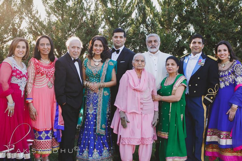 {Reception} Family Portraits