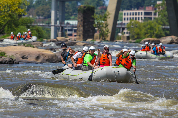River City Adventures 8-6-16 Morning Trip