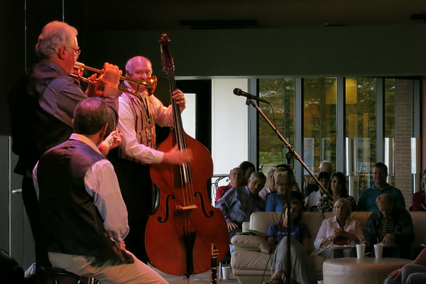 Sweet Licks Jazz Band @ the Plaza- July 17, 2014