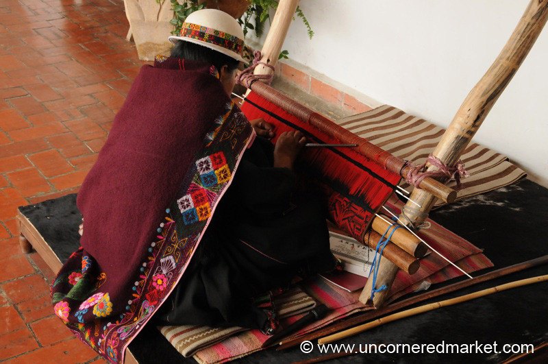Weaving in the Jalq'a Style - Sucre, Bolivia