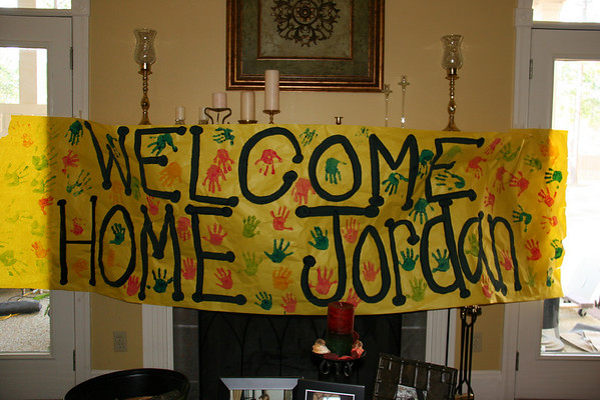 Jordan & Heather's Welcome Home