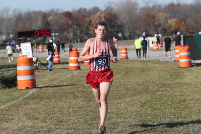 D2 Boys' at 2 Miles Section 2 - 2020 MHSAA LP XC