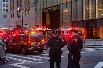4-Alarm Fire at Trump Tower