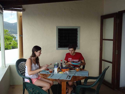 Seth and Lauren in Tortola February 2013