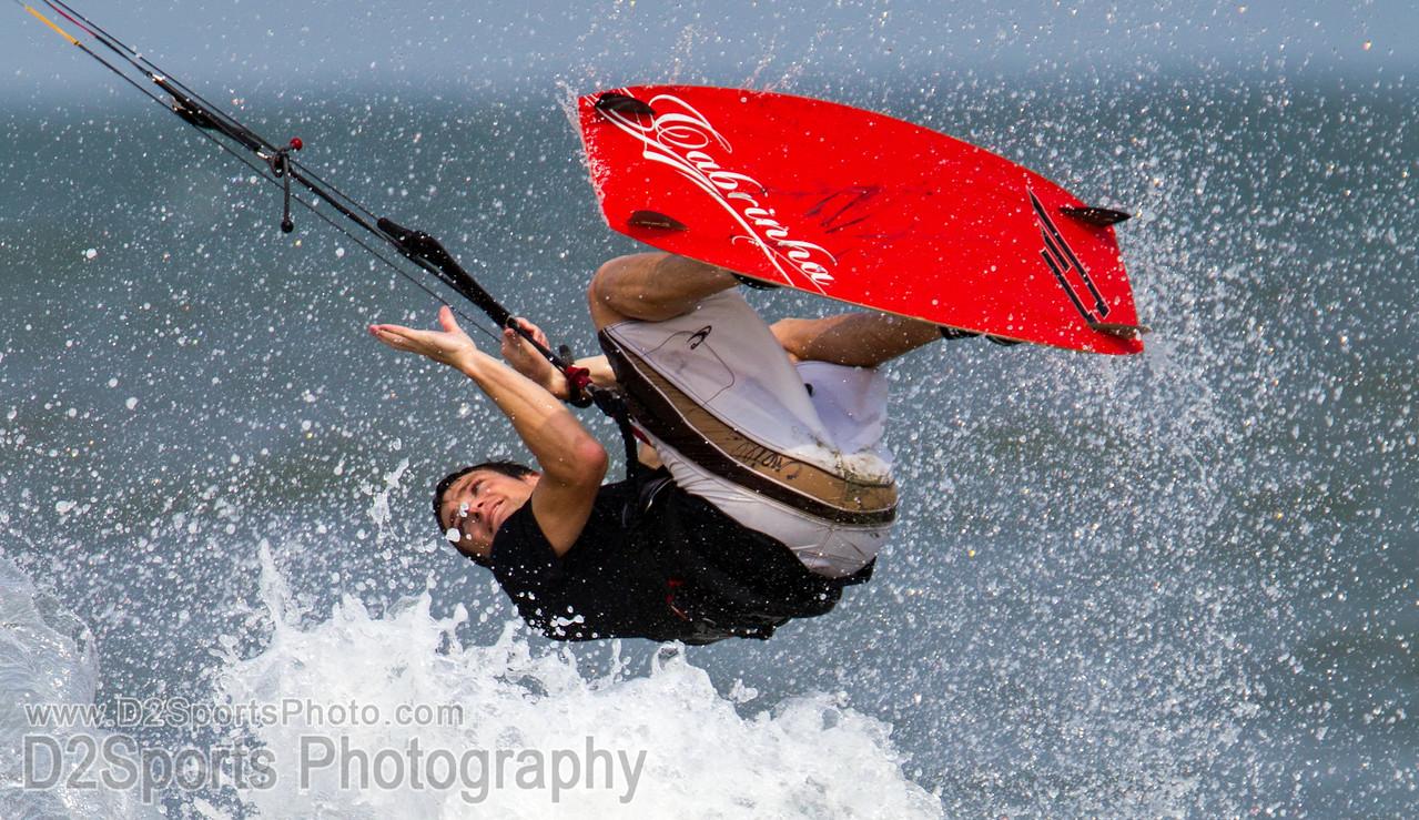 Kite Boarding at IOP