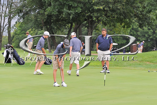 9-8-2014 Woodgrove vs John Champe Boys Golf