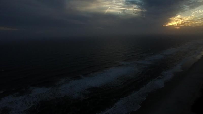 2016 Winter Beach Drone Video Time