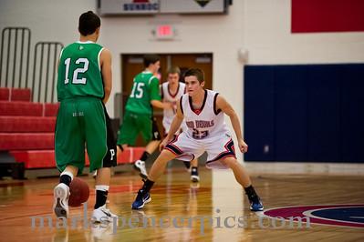 Basketball JV SHS vs Provo 2-14-2012