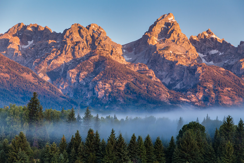 Grand Teton Fog