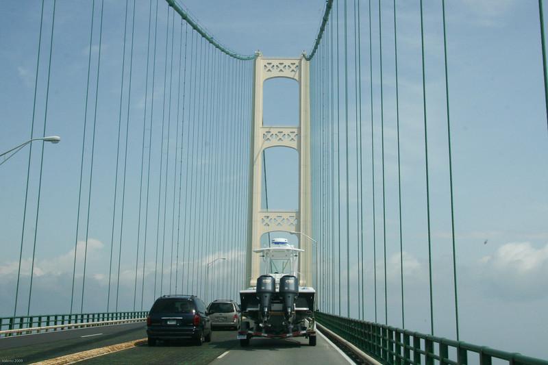 On the Mackinac Bridge