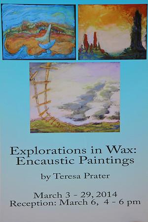 Teresa Prater Art in Tucker Gallery