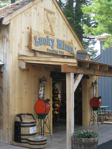 "The Canobie Village gift shop was renamed ""Lucky Miner""."