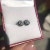 1.40ctw (est) Georgian Pear Collet Stud Earrings 17