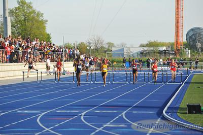 Women's 400 Meter Hurdles Finals - 2014 NCAA II Outdoor T&F