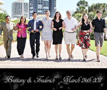 Brittany & Frederick 13x11 Wedding Album 1