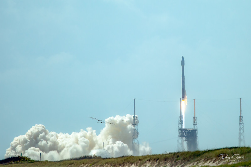 OA-7 Cygnus Cargo Freighter on an Atlas V Rocket