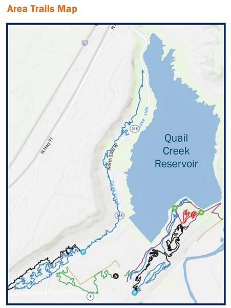 Quail Creek State Park (Trail Map)