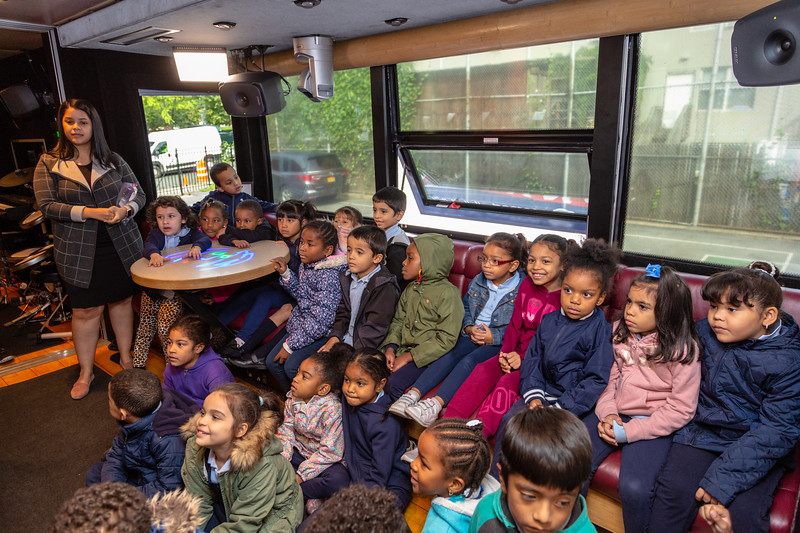 2019_10_11, Bronx, Bus, Interior, NY, PS25, Tours