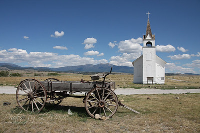 St. Joseph's Catholic Mission Church - Townsend, MT