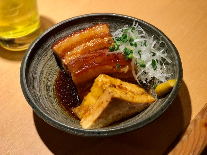 Rafute, a braised pork belly dish. This is detailed in a paragraph below.