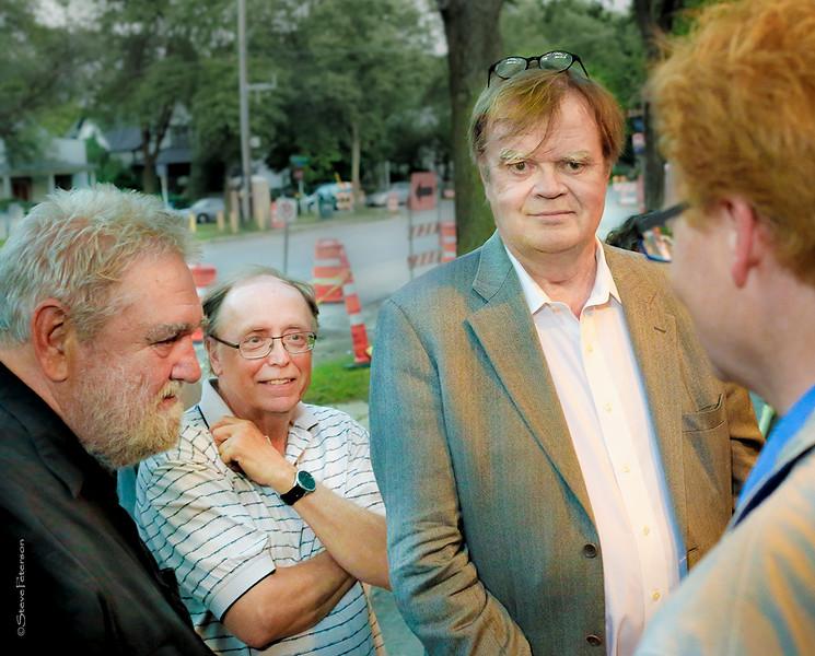 Paul Feroe, Garrison Keillor and Noah Bly