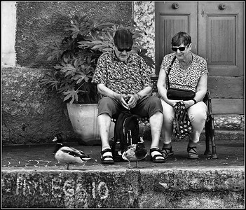 Limone sul Garda - Tourists