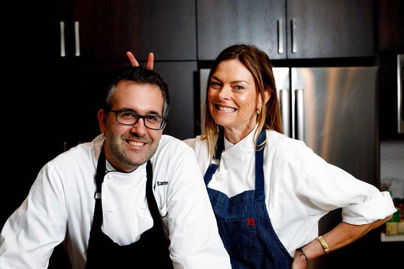 Renée Loux and Chad Sarno