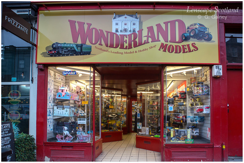 Wonderland Models, Lothian Road