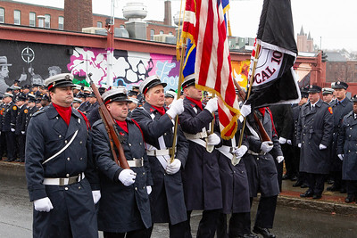 LODD  Lt. Jason Menard Funeral - Worcester, MA - 11/18/19