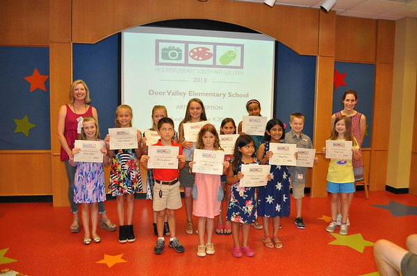 Deer Valley Elementary Young Artist Reception 2018