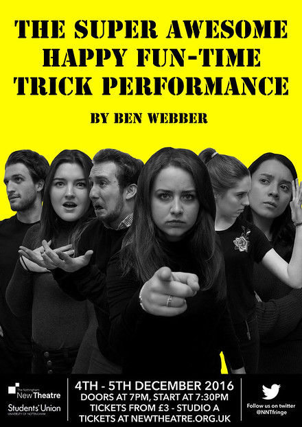 The Super Awesome Happy Fun-Time Trick Performance poster