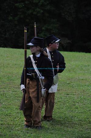 Carnifex Ferry Civil War Reenactment 2011