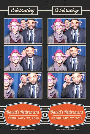 Photo Strips - 2/27/19 - David's Retirement Party