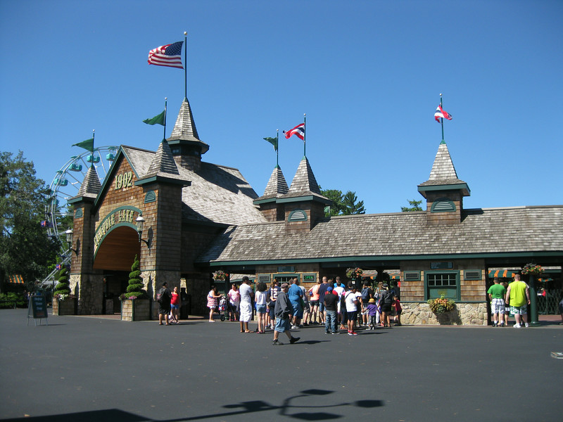 I visited Canobie Lake Park on July 5, 2014.