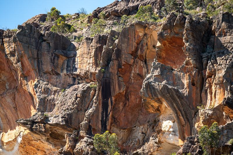 Grampain cliffs